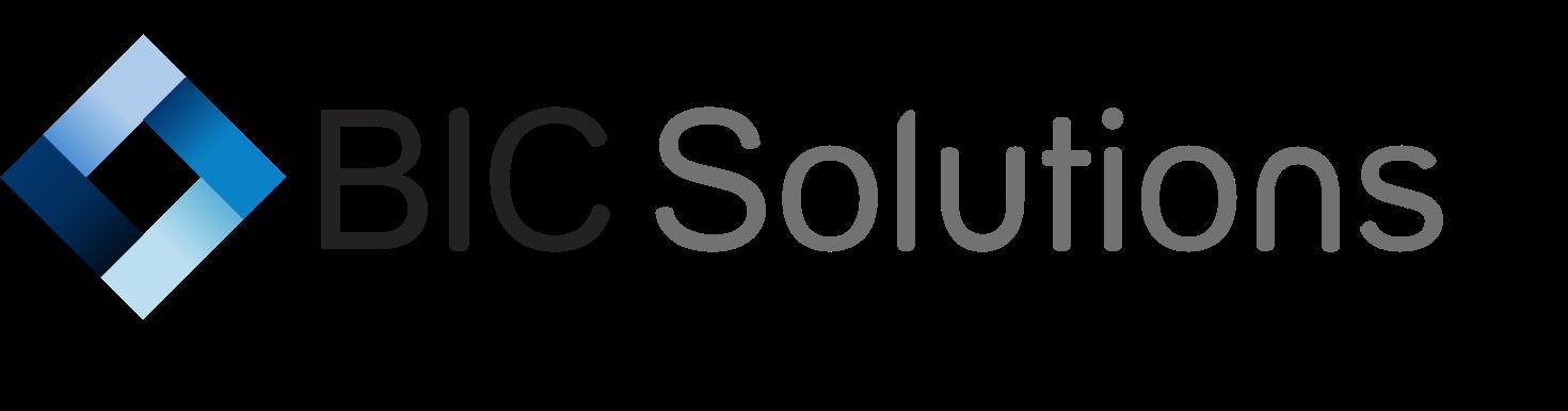 BIC Solutions logo (Transparent)