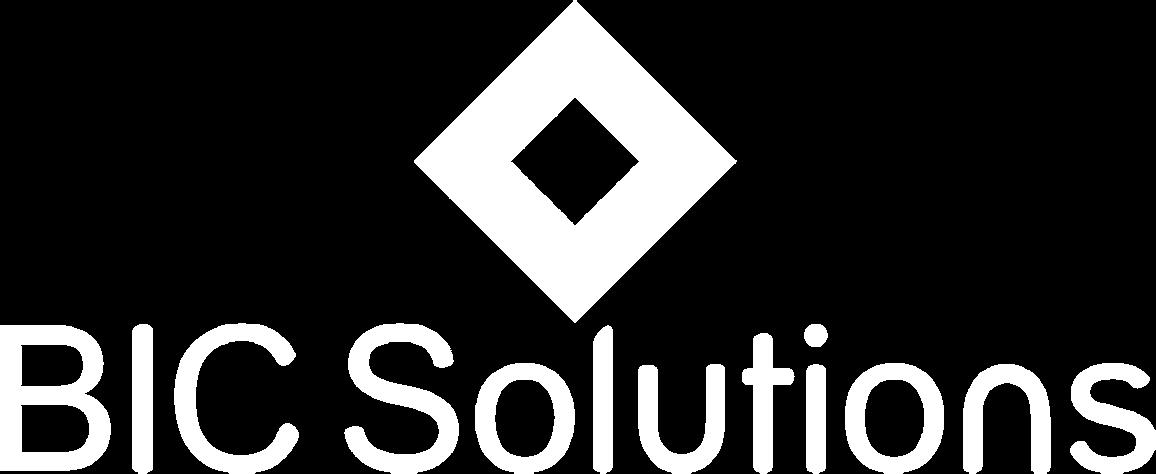 BIC Solutions logo White V 2(Transparent Stacked)